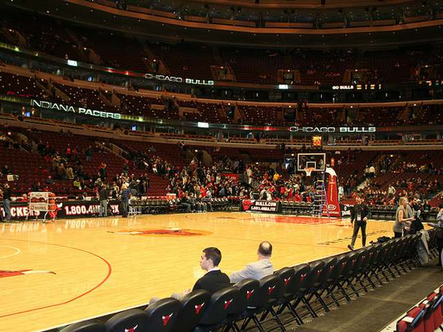 Chicago Bulls Courtside Seats