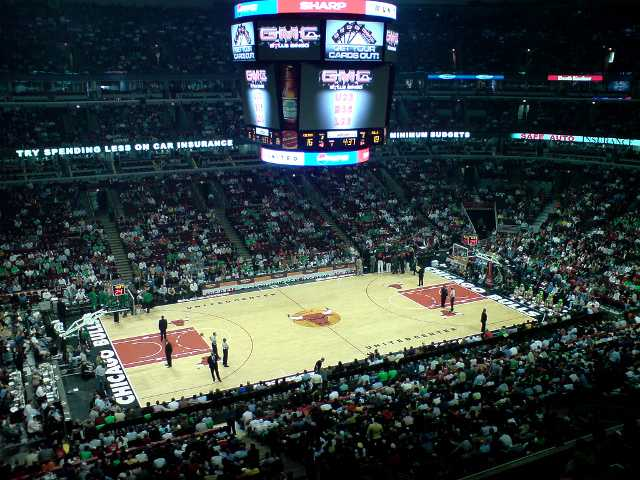 Chicago Bulls Upper Seats